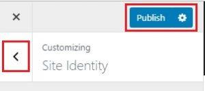 publishing site identity