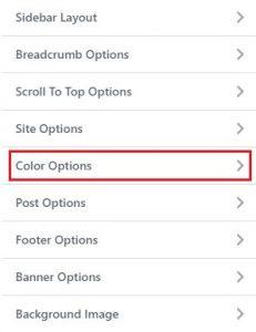 click color options